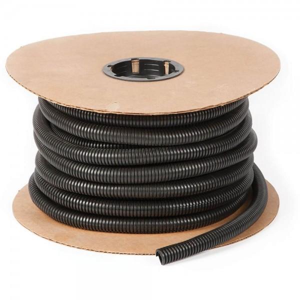 Black Polyethylene Split Loom