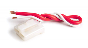Red & White Alternator Terminal Repair Assembly