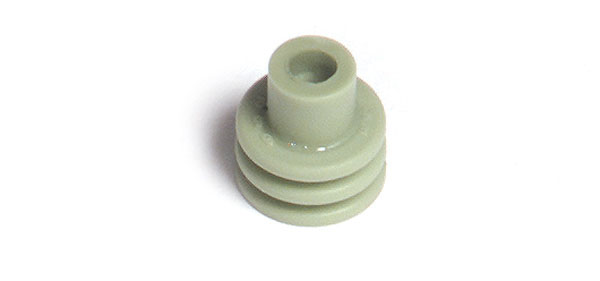 Sellos para cables Weather Pack, Calibre 20 - 18, silicona, 1000 u.