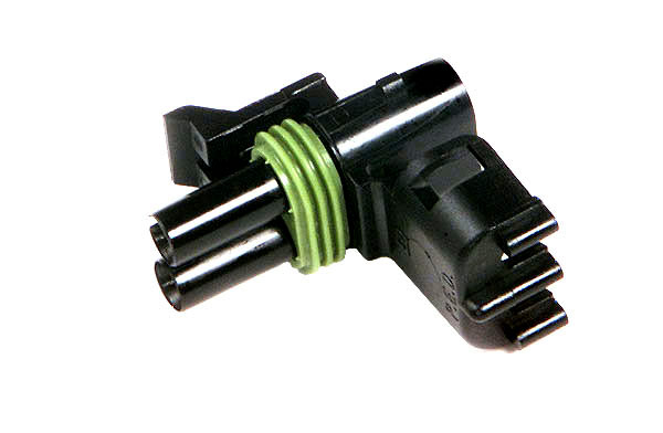 Weather Pack Connectors, Nylon Double Cavity, Female