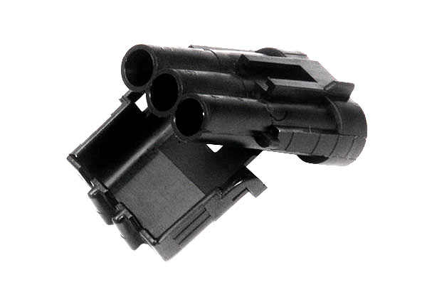 Weather Pack Connectors, Nylon Triple Cavity, Male