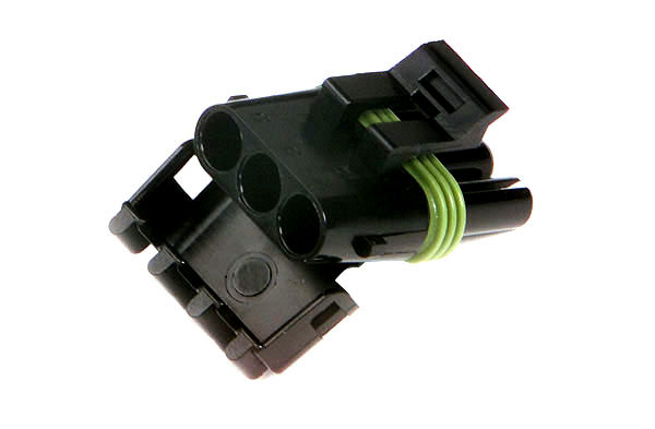 Weather Pack Connectors, Nylon Triple Cavity, Female