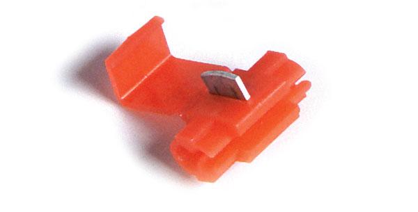 Conector rápido de empalme autodesmoldante, conectores de toma, Calibre 22 - 18, 5 u.