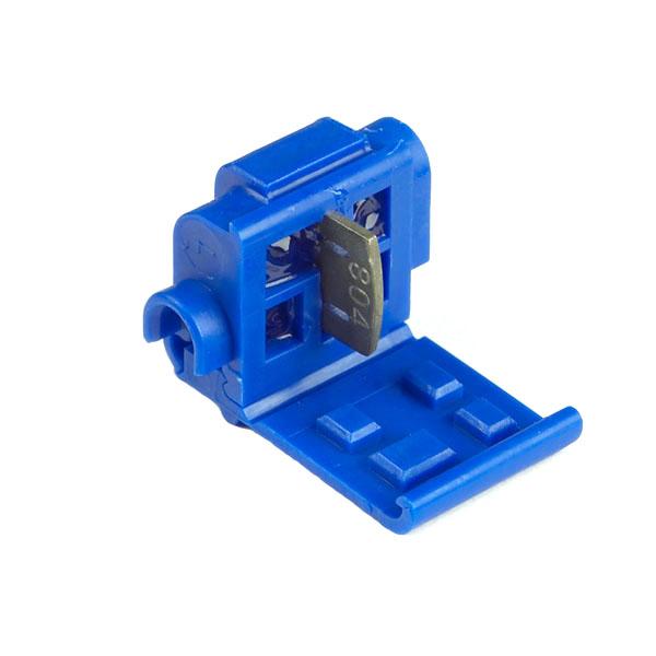 Conectores rápidos de empalme autodesmoldante, conector de toma en T, Calibre 18 - 14, 5 u.