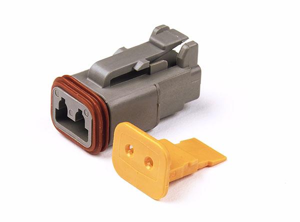 Deutsch - DT Series Housing & Wedgelocks, 2-Way Male Plug