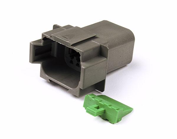 Deutsch - DT Series Housing & Wedgelocks, 8-Way Male Plug