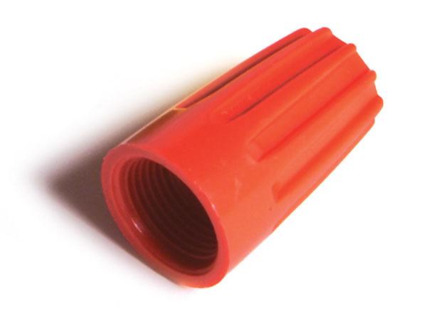 Conectores a rosca para cable, Calibre 18 - 10, termoplástico, 600 V, 15 u.