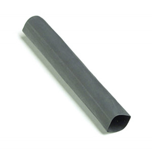 "Black Single Wall 6"" x 1/8"" Shrink Tube Includes 6 Tubes"