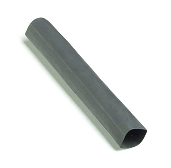 "Black Single Wall 6"" x 3/8"" Shrink Tube"