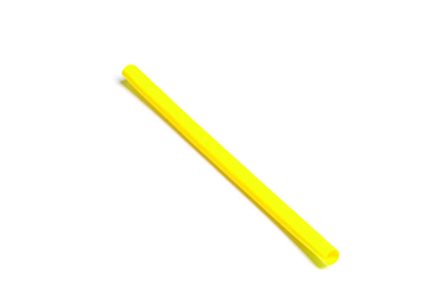 "Yellow Single Wall 6"" x 3/8"" Shrink Tube"