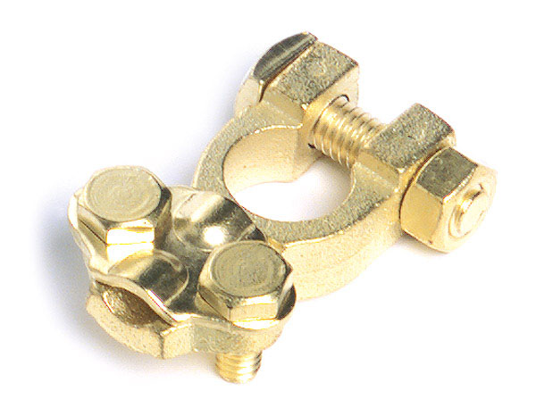 Universal Brass Automotive Clamp Retail Pack