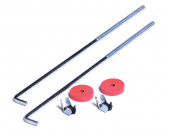 "10"" L Bolt Battery Hold Set"