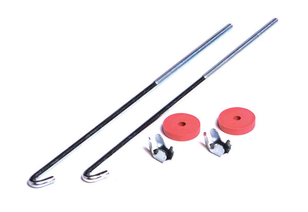 "10"" J Bolt Battery Hold Set"