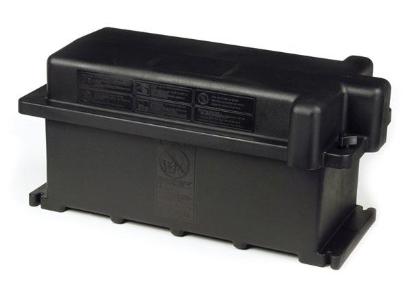 Boîte pour batterie simple et double