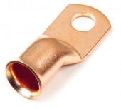 "6 Gauge Copper 1/4"" Stud Lug Bulk Pack thumbnail"