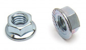 Bulk Hardware Flanged Nut Fastener Pack
