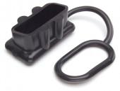 Tapa de protección negra para batería, para carcasas de 50 amperios