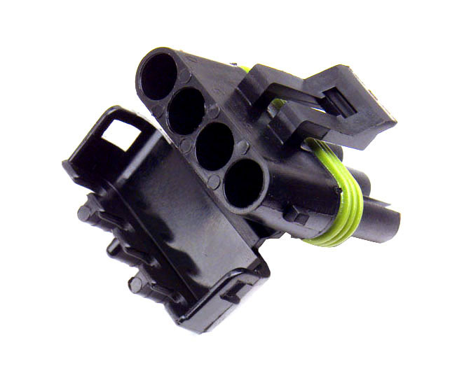 Nylon Four CavityWeather Pack Connectors