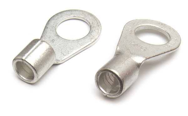 8 Gauge Uninsulated Brazed Seam Lug