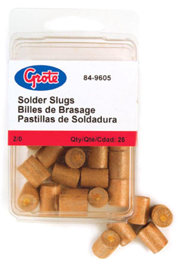2/0 Gauge Solder Slug