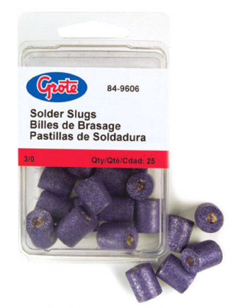 3/0 Gauge Solder Slug