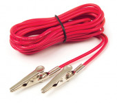 Red Insulated Alligator Tester Lead