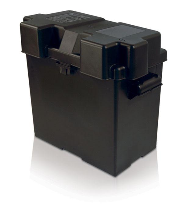 Boîte pour batterie simple