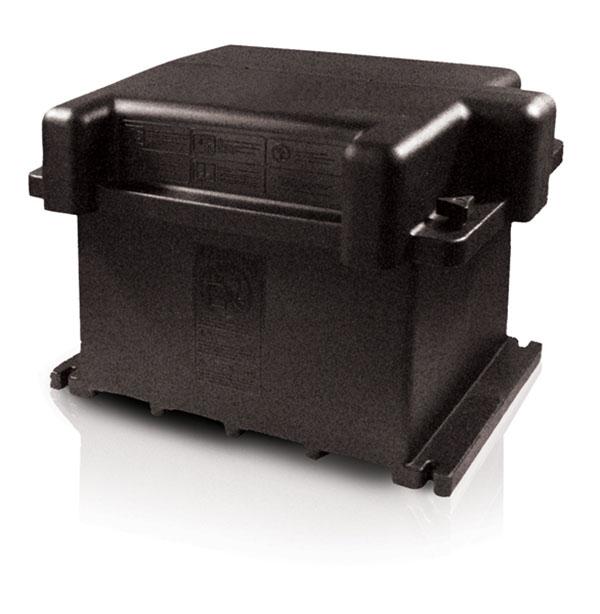 Boîte pour batterie double