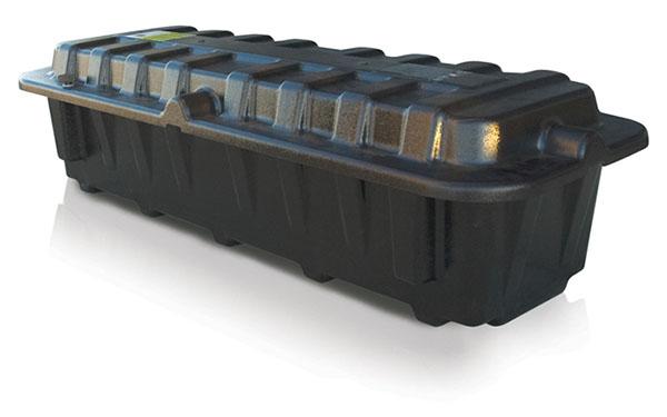 Dual 8D (End-End) Battery Box