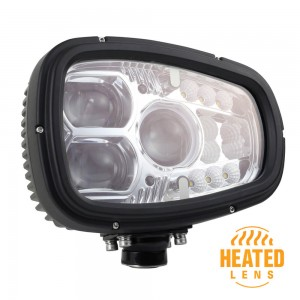Heated LED Snow Plow Light Left/Driver Side