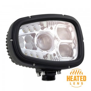 Heated LED Snow Plow Light Right/Passenger