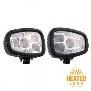 Luces LED con calefacción para quitanieves
