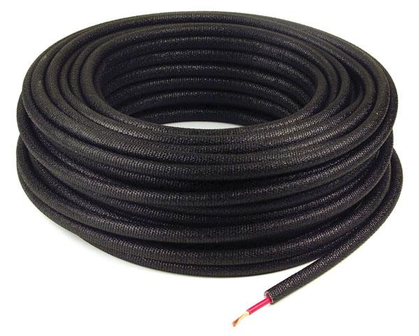 "3/8"" Size Black Non-Metallic Loom"