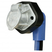 90 degree Plug & Receptacle with 7-way Female