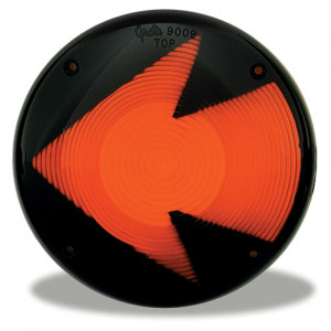 Amber Stop Tail turn Replacement Lens With Arrow