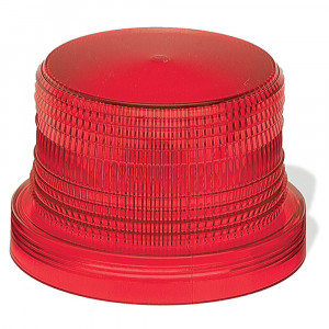 Warning & Hazard Replacement Lens, Mighty Mini Strobe, Red
