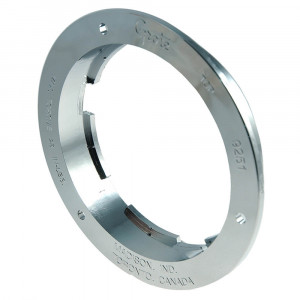 "Theft-Resistant Flange For 4"" Round Lights, Chrome Plated"