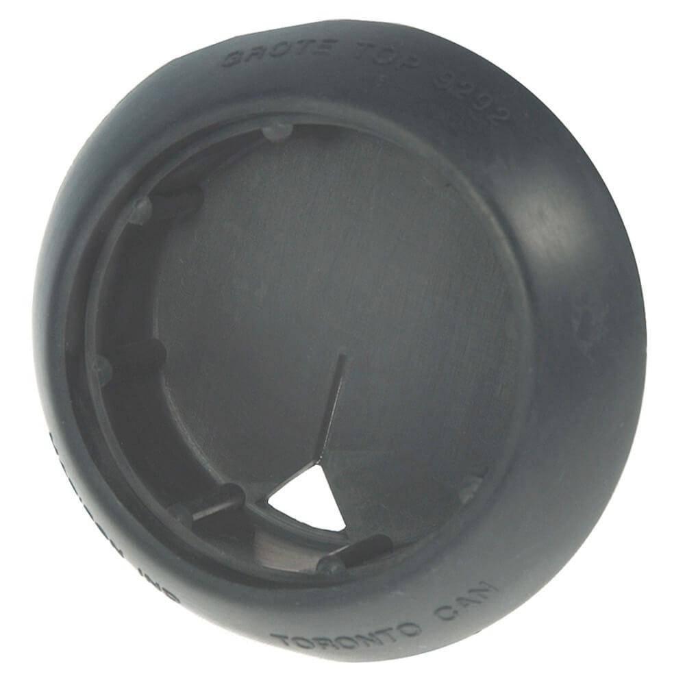 Aro protector de montaje en ángulo de 45º con bordes biselados, aro protector de parte posterior cerrada