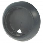 45º Angled Beveled-Edge Mounting Grommet, Closed Back Grommet