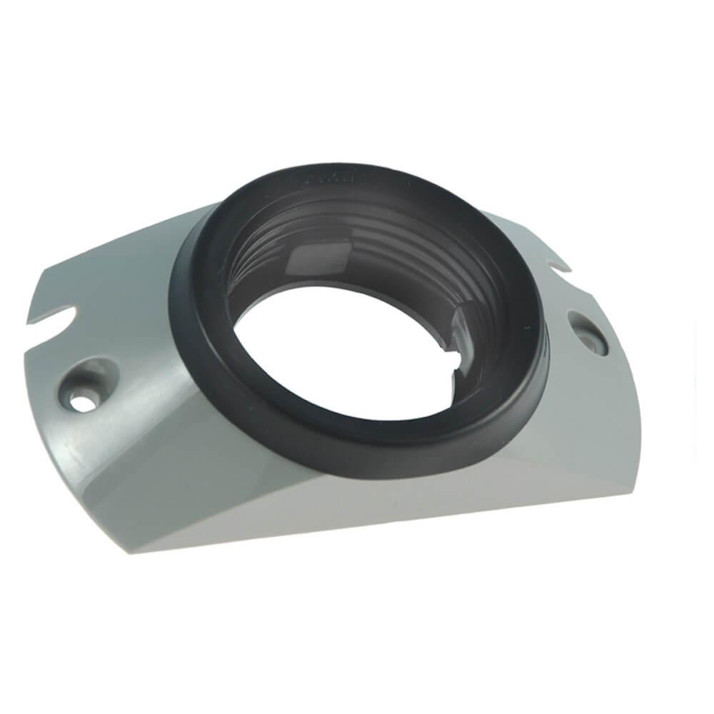"""Soporte de montaje con aro protector para luces redondas de 2 1/2"""", gris"""