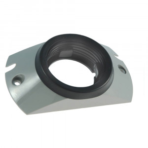 "Mounting Bracket With Grommet For 2 1/2"" Round Lights, Gray"