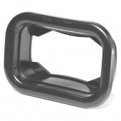 Grommet For Rectangular Lights, Mounting Grommet, Black thumbnail