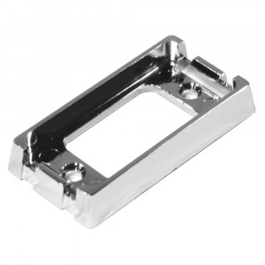 Bracket For Small Rectangular Lights, Chrome Plated