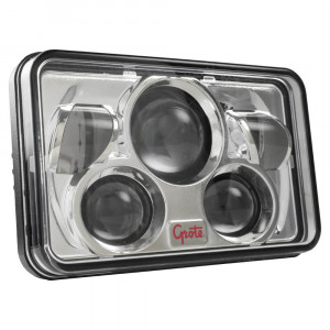 LED Headlight with combined high beam and low beam