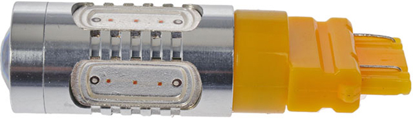 Wedge Base White / Amber LED Bulb
