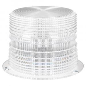 Clear Internal Beacon Lens