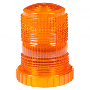 """3.9"""" Amber LED Beacon Replacement Lens"""