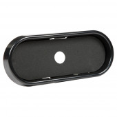 "6"" Oval Black Surface Mount Bezel Miniaturbild"