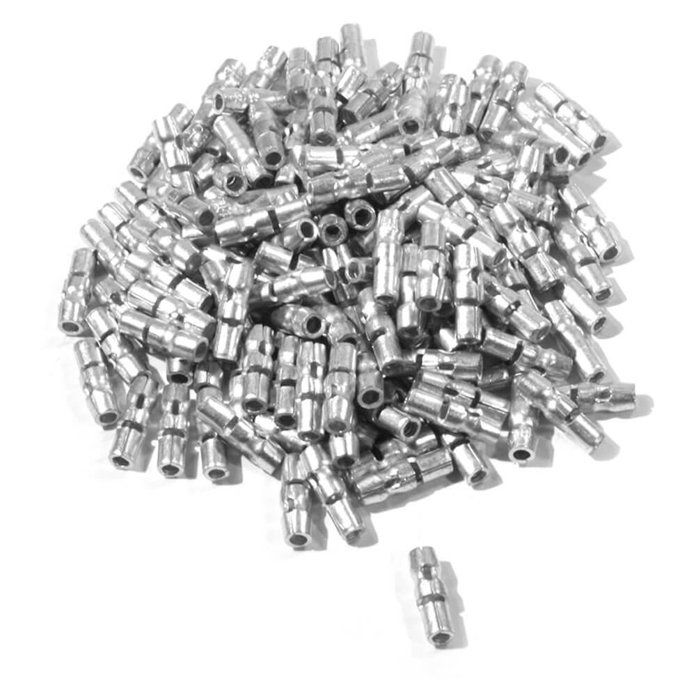 Terminales de engarce con cabeza redonda de .180, Cable de calibre 14
