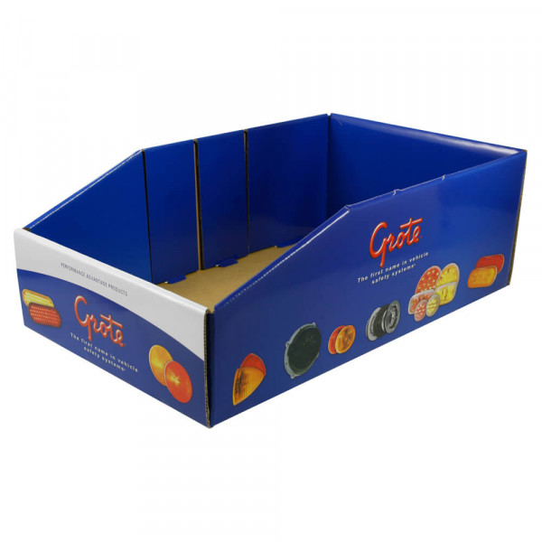 Display Bin Box, Full Color Bin Box